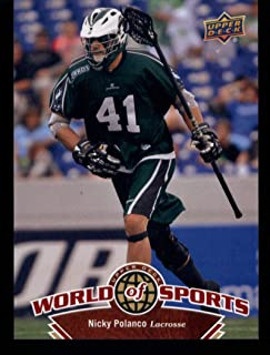 2010 Upper Deck World of Sports #267 Nicky Polanco MultiSport MultiSport