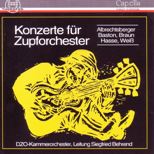 Konzert in E-Dur für Flöte, Gitarre und Zupforchester: II. Andante