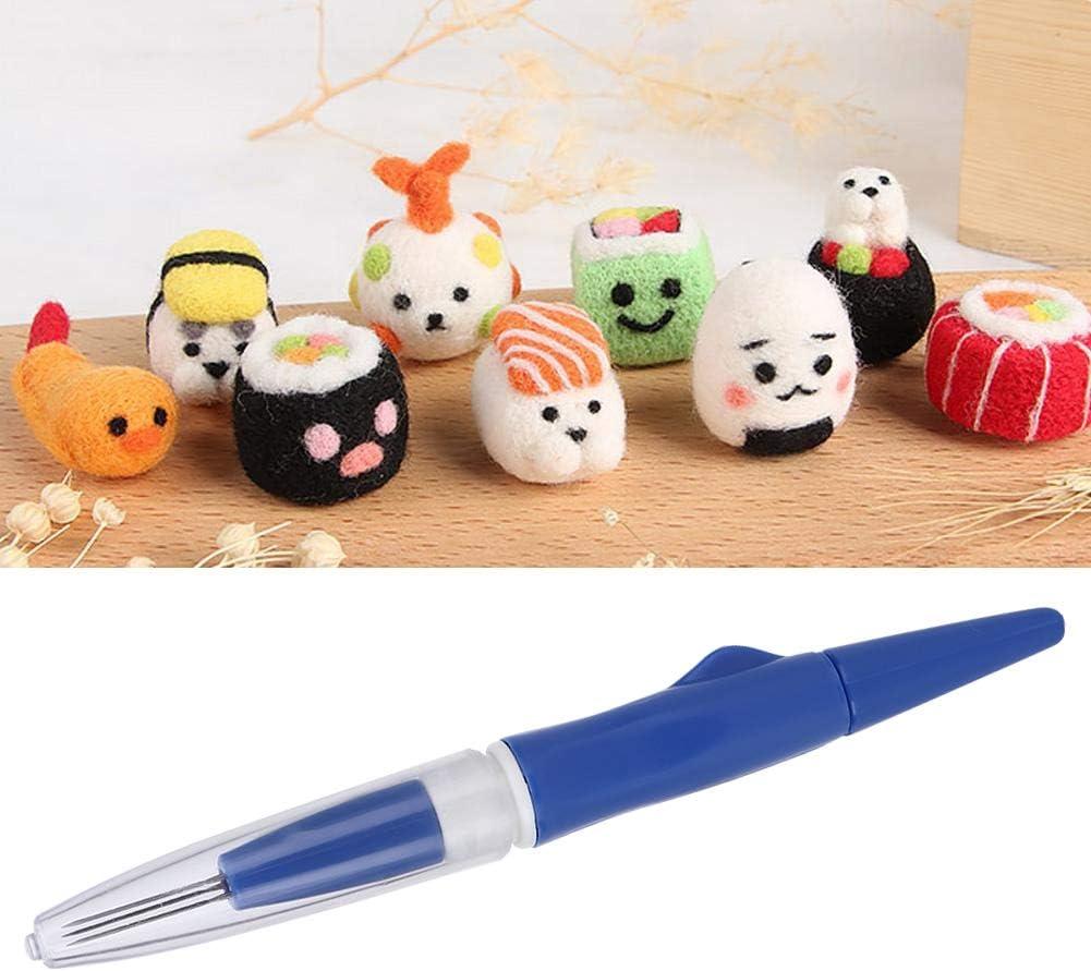for Make Wool Felt Toys for DIY Craft Work Pink Felting Needle Pen 3 Felting Needle Pen Felting Needle Needles Felting Pen