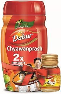 Dabur Chyawanprash 2X Immunity - 1kg with Dabur Honey  - 50 g Free
