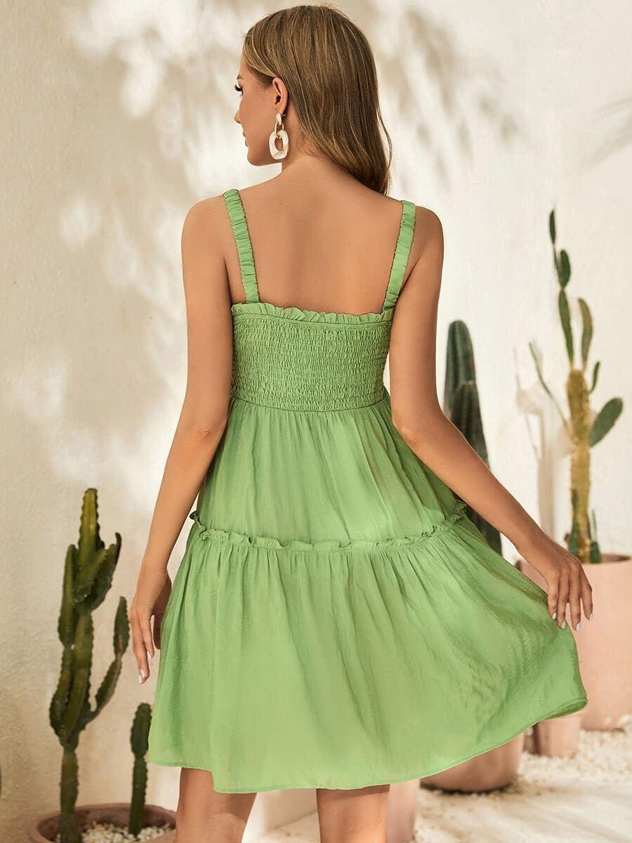 Shreem85 Maternity Dress San Francisco Max 75% OFF Mall Shirred Frilled Cami D Bodice