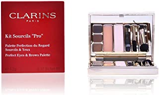 Clarins Sourcils Pro Perfect Eyes and Brows Palette Kit, 5.2g