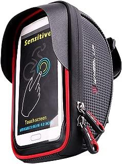 VORCOOL Bike Phone Mount Bag Waterproof Universal Cycling Bicycle Frame Bags Phone Mount Holder Top Tube Handlebars Storage Bag for iPhone 6 6s 7 7s 8 X Plus Samsung 7 Note 7 Below 6.2 inch