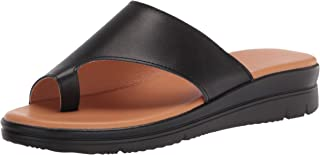 Bunion Sandals for Women Comfy - Bunion Corrector Platform Shoes BSP-2 Genuine Leather Women Flip-Flop Light Weight Ladys ...