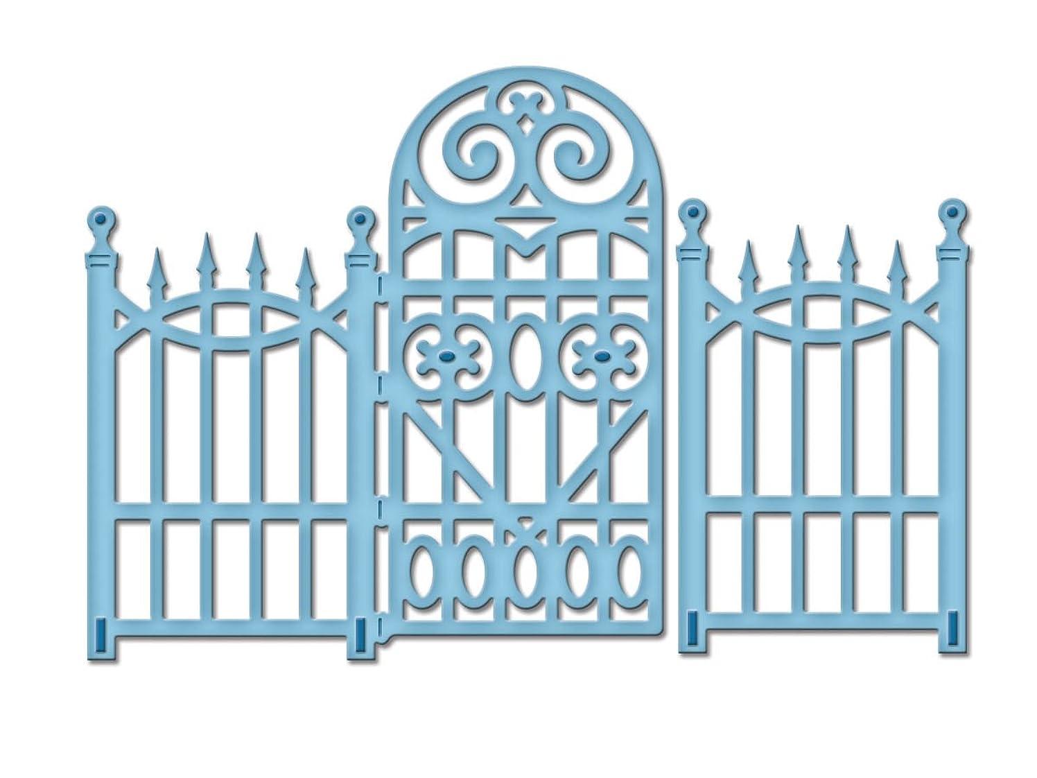 Spellbinders S2-080 Die D-Lites Garden Gate Etched/Wafer Thin Dies