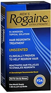 Rogaine for Men Hair Regrowth Treatment, Extra Strength 2 Oz