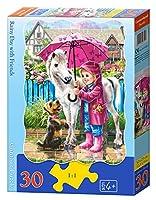 Puzzle-taille: 32 × 23 cm Nombre de pièces de puzzle: 30 Recommandé de âge: 4 ans