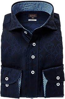 ドレスシャツ ワイシャツ カッターシャツ シャツ STYLE WORKS(スタイルワークス 長袖 綿:100% カッタウェイ カッタウェイ メンズ 柄シャツ 派手シャツ|RWD122-181 [181-M]