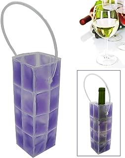 Rapid Ice Wine Cooler, Gel Wine Bottle Chill Cooler Ice Bag - Freezer Bag- Vodka- Tequila Chiller- Cooler- Carrier