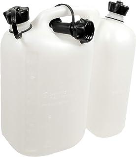comprar comparacion OREGON 562408 combi-can transparente, 5 litros de combustible y aceite 3 litros