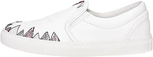 D.A.T.E. Slip ON-15I Chaussures de Tennis Femme