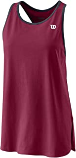 WILSON Women's Tennis Tank Top, W Since 1914 Tank, Cotton