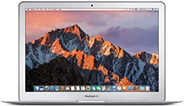 Apple 13in MacBook Air (2017 Version) 1.8GHz Core i5 CPU, 8GB RAM, 256GB SSD, Silver, MQD42LL/A (Renewed)
