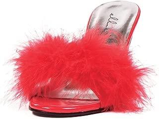 Best fluffy heels red Reviews