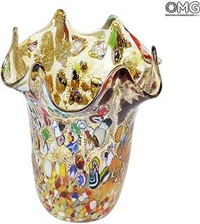 Original Murano Glass OMG Vento - Brown Mix Colors