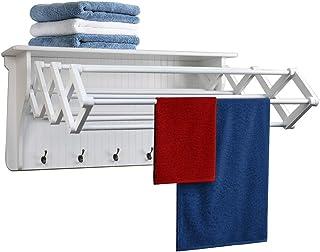 (White) - Danya B. Accordion Drying Rack