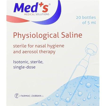 Farmac Zabban SpA 1400000009M Soluzione Fisiologica Isotonica in Flaconcini da 5 ml Sterile