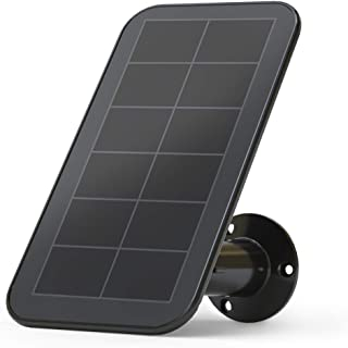 Arlo VMA5600B Accessory Solar Panel Charger, Weather Resistant, 8 ft Magnetic Power Cable, Adjustable Mount, Compatible with Arlo Ultra and Pro3 Only, (Official)
