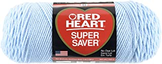 Red Heart Super Saver Yarn, Light Blue