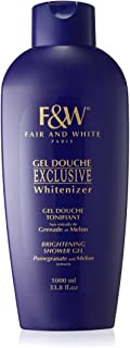 Fair & White Exclusive Brightening Shower Gel with Pomegranate and Melon Extracts, 1000ml / 33.8fl.oz.