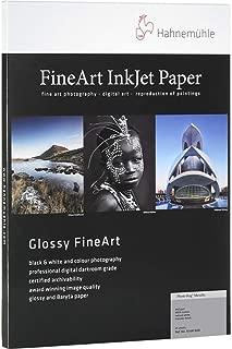 Hahnemuhle PhotoRag Metallic, 340gsm, Fine Art, Natural White, Hi-Gloss Inkjet Paper