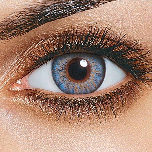 FreshLook One Day Blue Tageslinsen weich, 10 Stück, BC 8.6 mm, DIA 13.8 mm, -8 Dioptrien