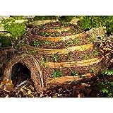 Wildlife World Hedgehog - casetta per porcospini a forma di igloo (Taglia unica) (Marrone)...