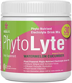 Phytolyte Electrolyte Powder Drink Mix Hydration Amplifier, Gut Friendly, Gluten Free, Vitamin and Nutrient...