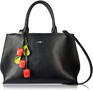 ESPE Emmy Vegan Leather Handbag with Flower Charm