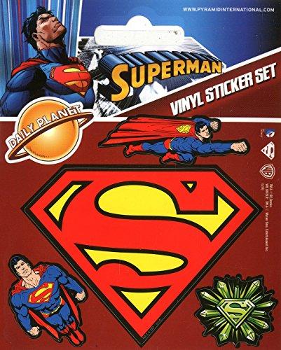 Pyramid International Superman Stickers muraux en Vinyle, Papier, Multicolore, 10 x 12.5 x 1.3 cm