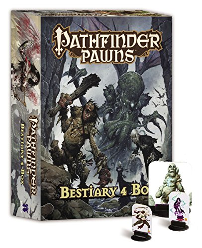 Pathfinder Peones Bestiario (Caja de 4)
