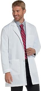 Landau Men's 3-Pocket Poplin Staff 35 1/2; Lab Coat White superior poplin 34