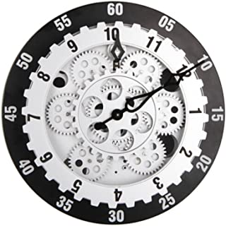 Best large mechanical gear wall clock Reviews