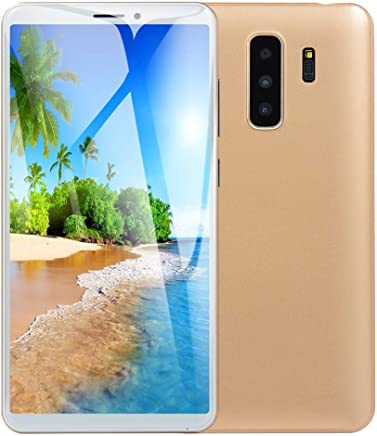 $42 Get 5.8 inch Unlocked Smartphone Dual HD Camera Android 6.0 1G+4G Extended Memory 32G GPS WiFi 2000Mah Battery 3G Call Mobile Phone (Gold)