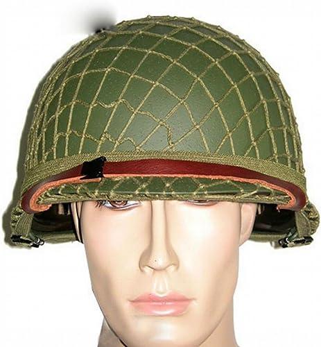 Armée Américaine Seconde Guerre Mondiale Armée Fan M1 Double Couche Casque Casque Net Set Tactique Casque CS Champ Casque