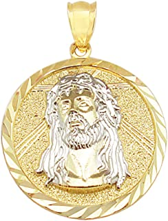 Best gold jesus medallion Reviews