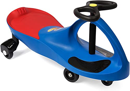 The Original PlasmaCar by PlaSmart – Blue – Ride On Toy, Ages 3 yrs and Up, No batteries, gears, or pedals, Twist, Tu...