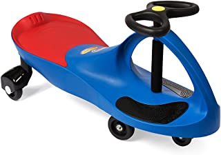The Original PlasmaCar by PlaSmart – Blue – Ride On Toy, Ages 3 yrs and Up, No batteries, gears, or pedals, Twist, Turn, Wiggle for endless fun