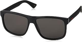 GG 0010 S- 001 BLACK/GREY Sunglasses