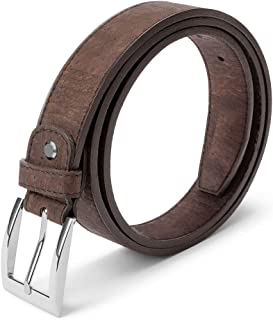 mens vegan belts uk