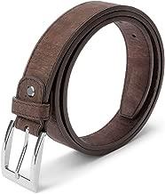 Corkor Vegan Belt for Men Dress Durable   30mm Wide   Non-Leather Cork