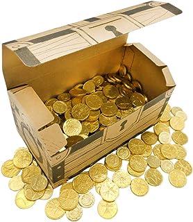ベルギー産 コインチョコレート 2kg 宝箱付 イベント用 ミックス 業務用 大容量 プレゼント 子ども会 夏祭り
