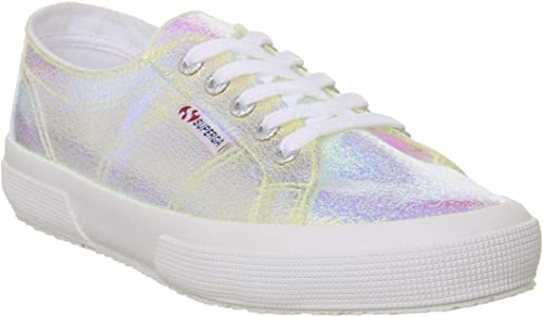Superga Wohommes 2750-Crack Iridescent Lace Up Up Trainer Multi-Multi-6.5 Taille 6.5  moins cher