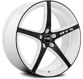 RTX Illusion Сustom Wheel - White with Black Face 17