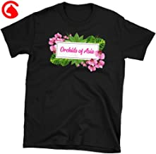 CatixFashion Orchids Of Asia T Shirt Orchids Of Asia Day Spa Flower Graphic Tee TShirt Print Unisex Classic T Shirt