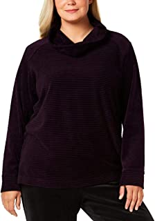 Womens Plus Fitness Active Wear Sweatshirt