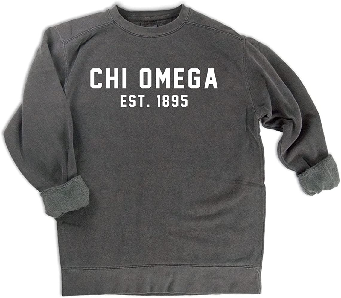 Dedication Chi Omega Est. 1895 Sweatshirt Ranking TOP17