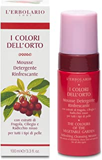 Mousse Detergente Rinfrescante I Colori dell'Orto Rosso 100 ml