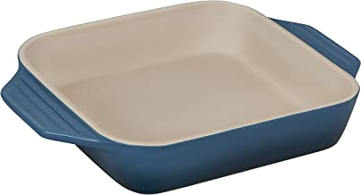 "Le Creuset Stoneware Square Dish, 2.2 qt. (9.5""), Deep Teal"