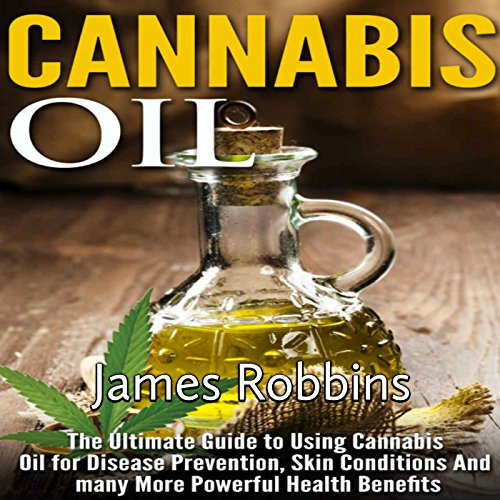 Cannabis Oil audiobook cover art